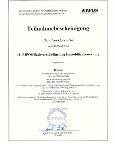 EIPOS-Immobilienbewertung